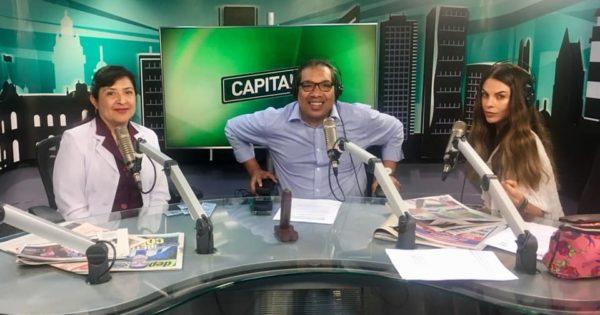 ENTREVISTA EN RADIO CAPITAL 96.7 FM EN EL MARCO «DÍA INTERNACIONAL DEL CONDÓN»