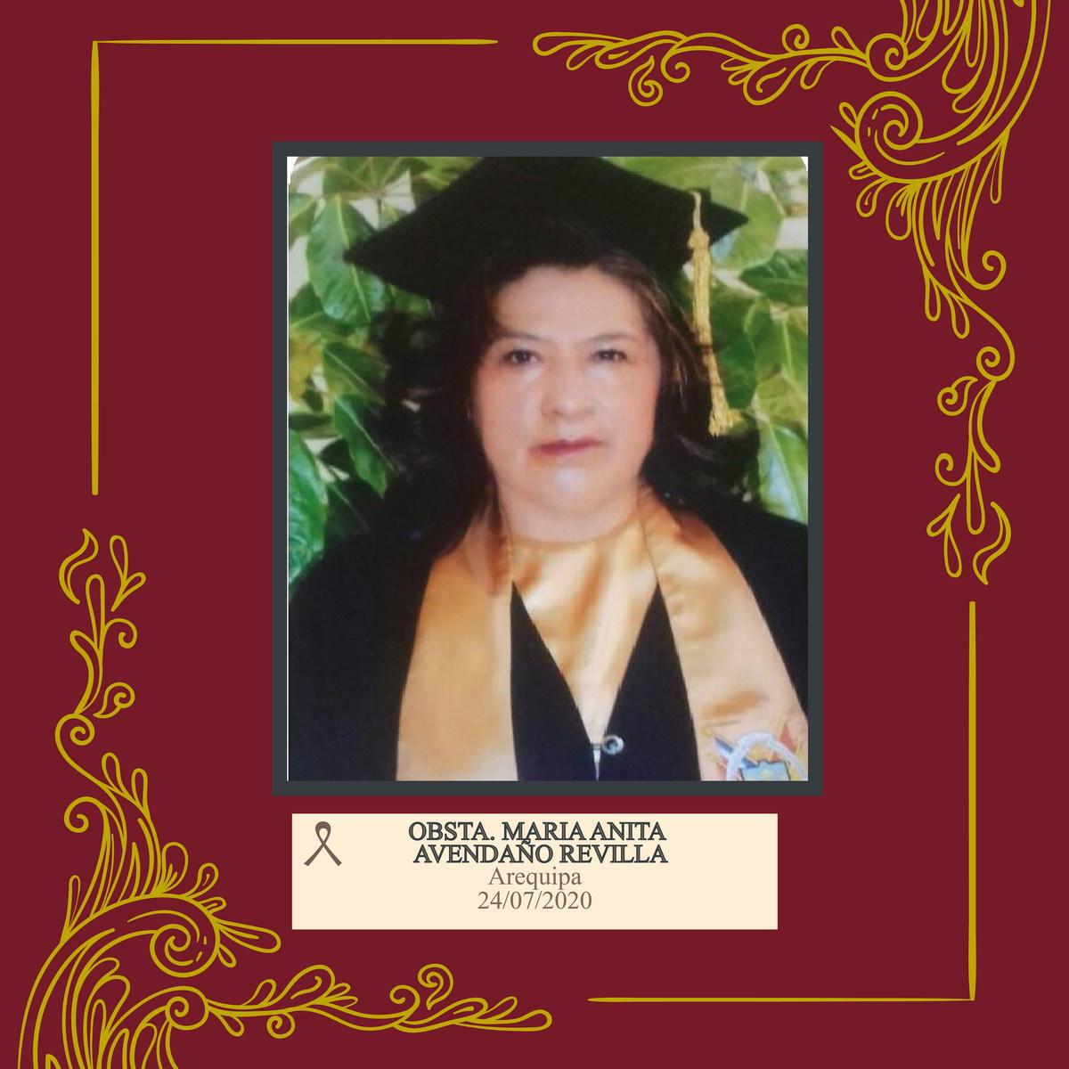María Anita Avedaño Revillo