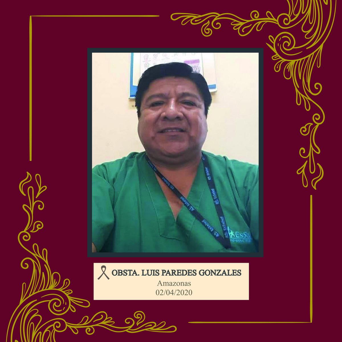 Luis Alberto Paredes Gonzáles