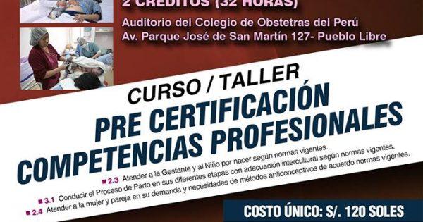 """Curso/Taller """"PRE CERTIFICACIÓN COMPETENCIAS PROFESIONALES"""" 24 y 25 de marzo."""