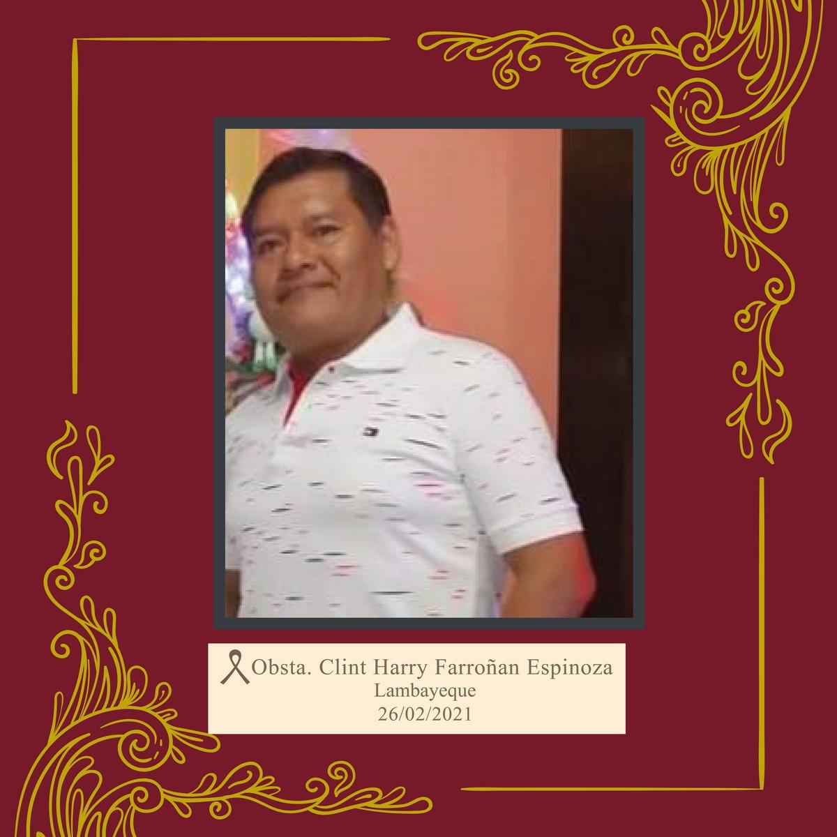 Clint Harry Farroñan Espinoza