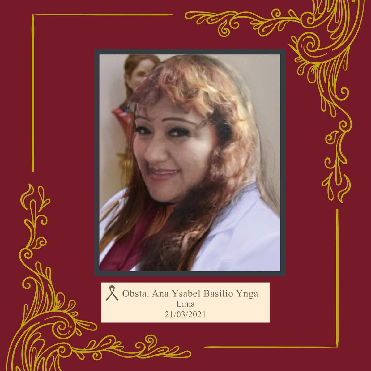 Ana Ysabel Basilio Ynga