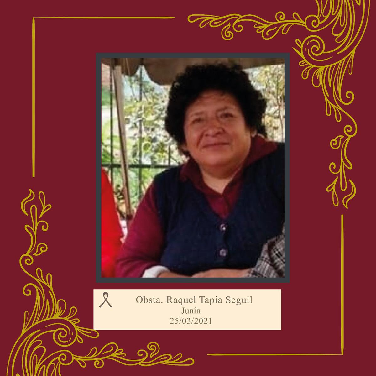 Raquel Tapia Seguil