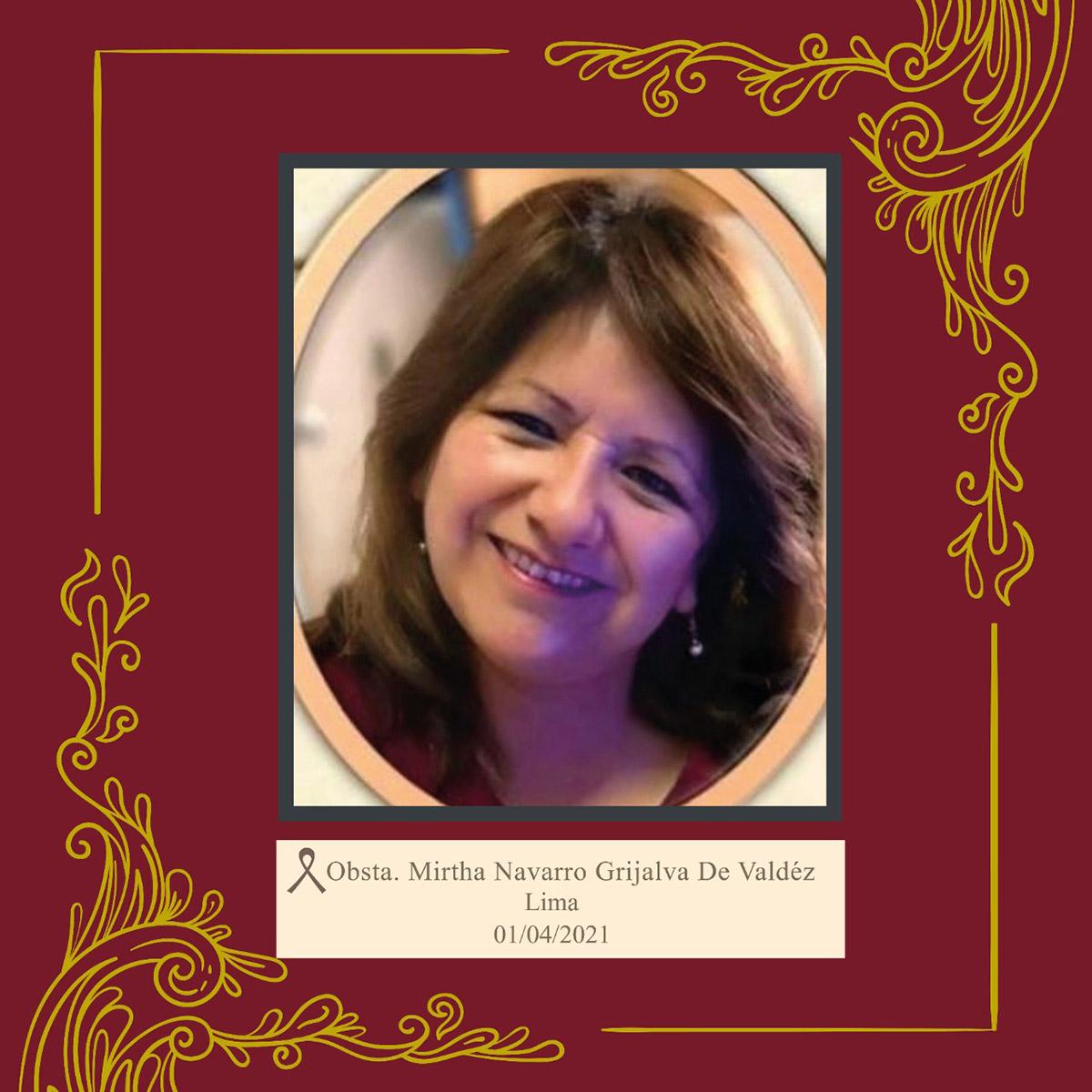 Mirtha Navarro Grijalva De Valdéz