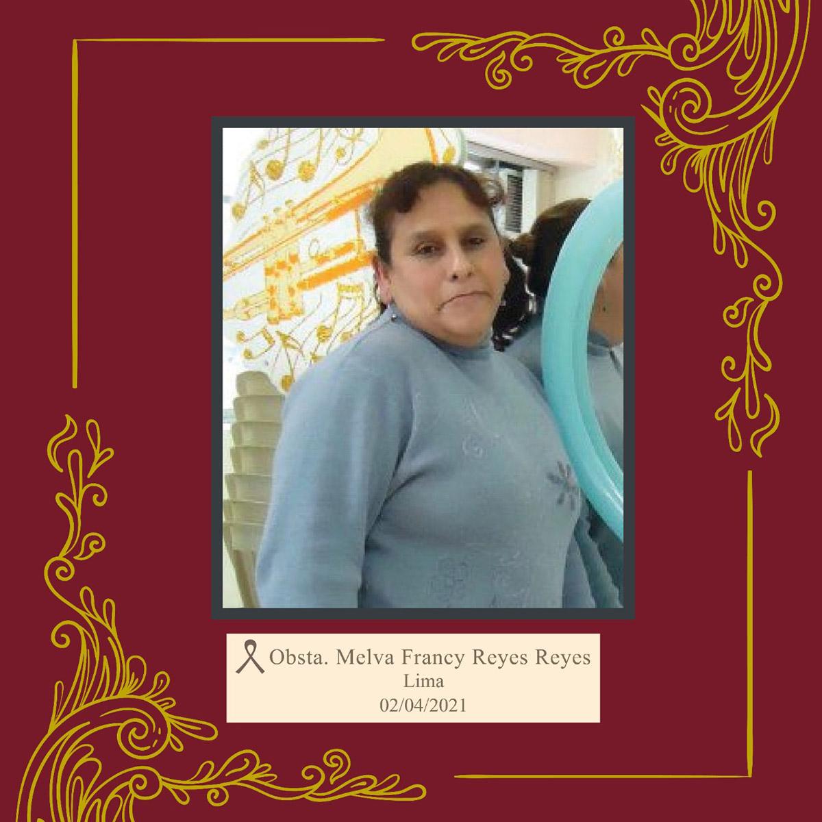 Melva Francy Reyes Reyes