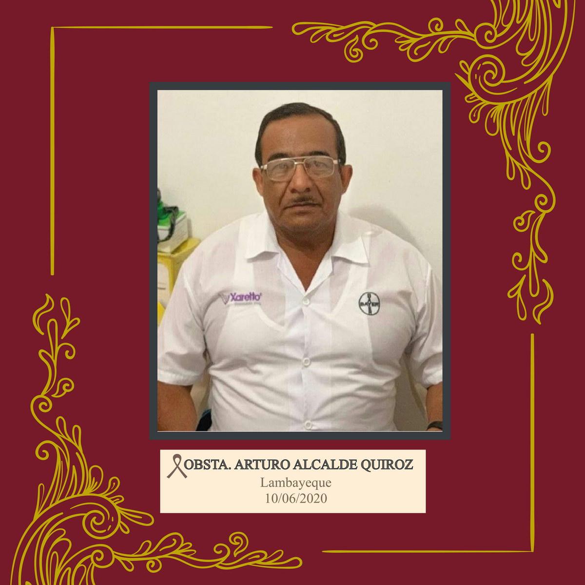 Arturo Alcalde Quiroz