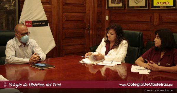 REUNIÓN CON EL MINISTRO DE SALUD