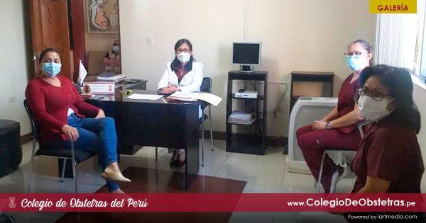 OBSTETRA ADA RÍOS QUEZADA SE REUNIÓ CON LA CONGRESISTA MARÍA GALLARDO