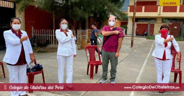 El Colegio Regional de Huánuco coordinó la inmunización de la práctica privada de su región