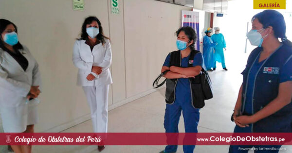 Vacunación de obstetras del sector privado de Lima Norte