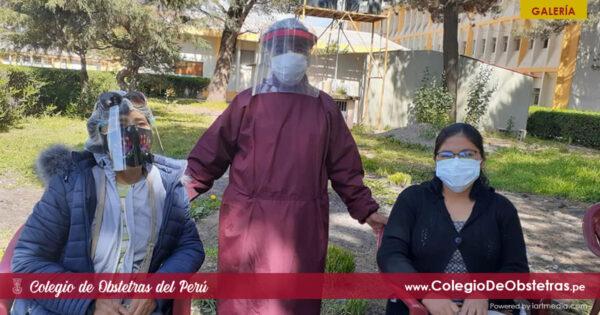 Continúa la vacunación a obstetras de la práctica privada en todo el Perú
