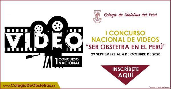 I CONCURSO NACIONAL DE VIDEOS