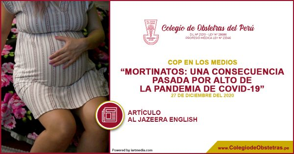 MORTINATOS: UNA CONSECUENCIA PASADA POR ALTO DE LA PANDEMIA DE COVID-19