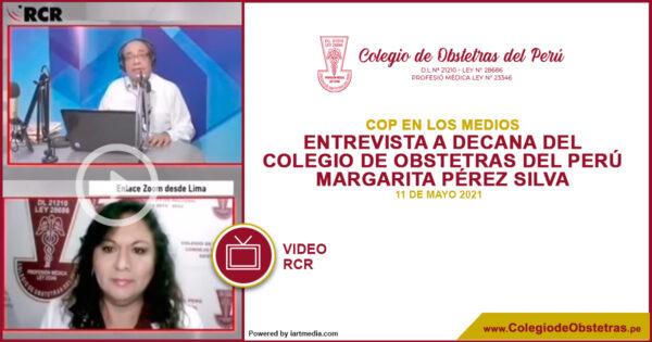 La decana del Colegio de Obstetras del Perú, explicó la importancia de incluir a las gestantes en los grupos prioritarios de vacunación