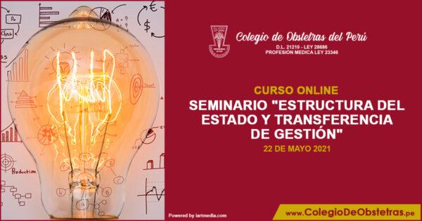 Seminario «Estructura del Estado y Transferencia de Gestión»