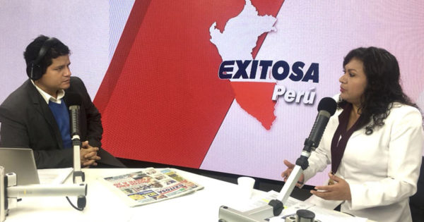 ENTREVISTA DE LA DECANA NACIONAL DEL COP A RADIO Y TV EXITOSA