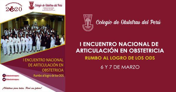 I ENCUENTRO NACIONAL DE ARTICULACIÓN EN OBSTETRICIA