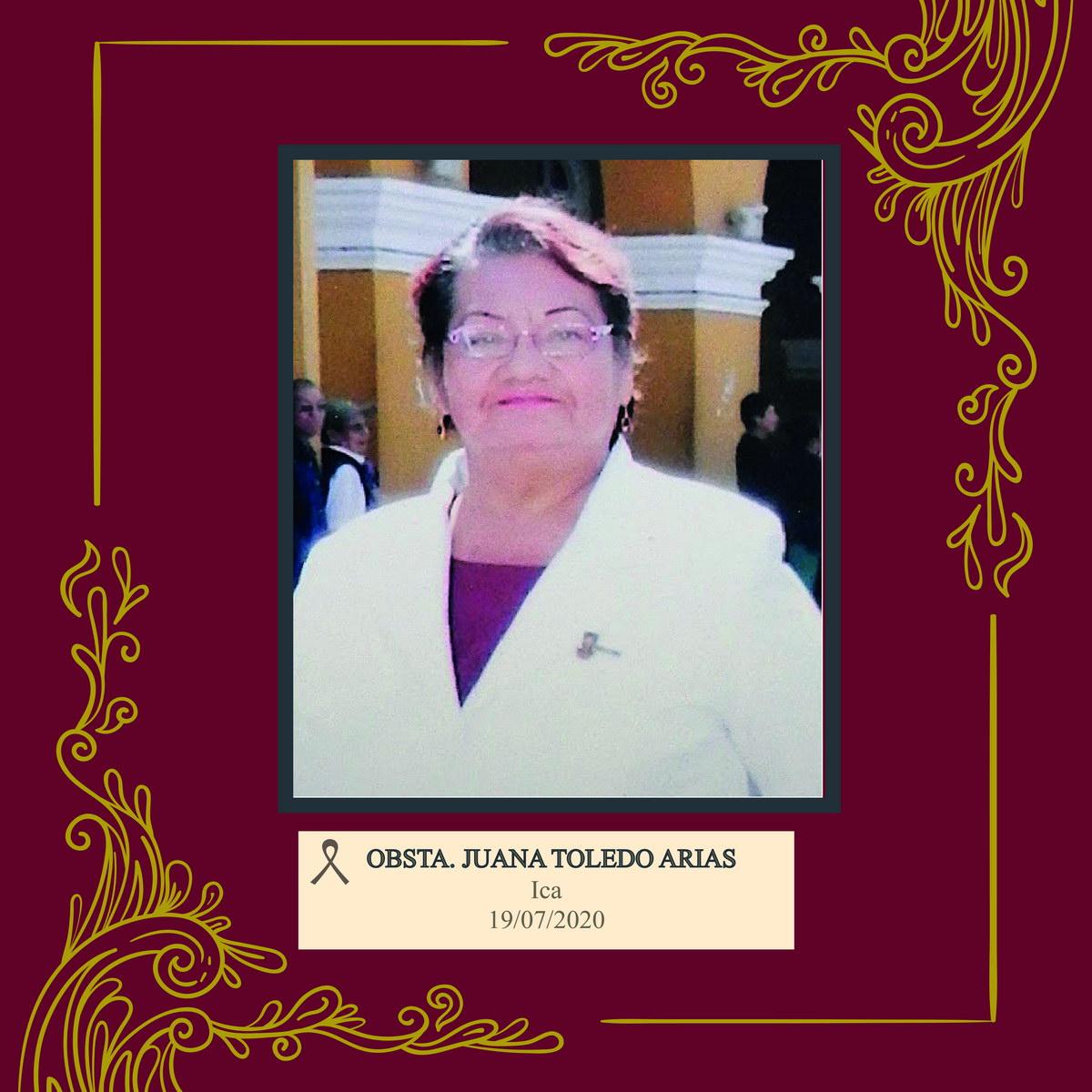Juana Rosa Toledo Arias de Escarena