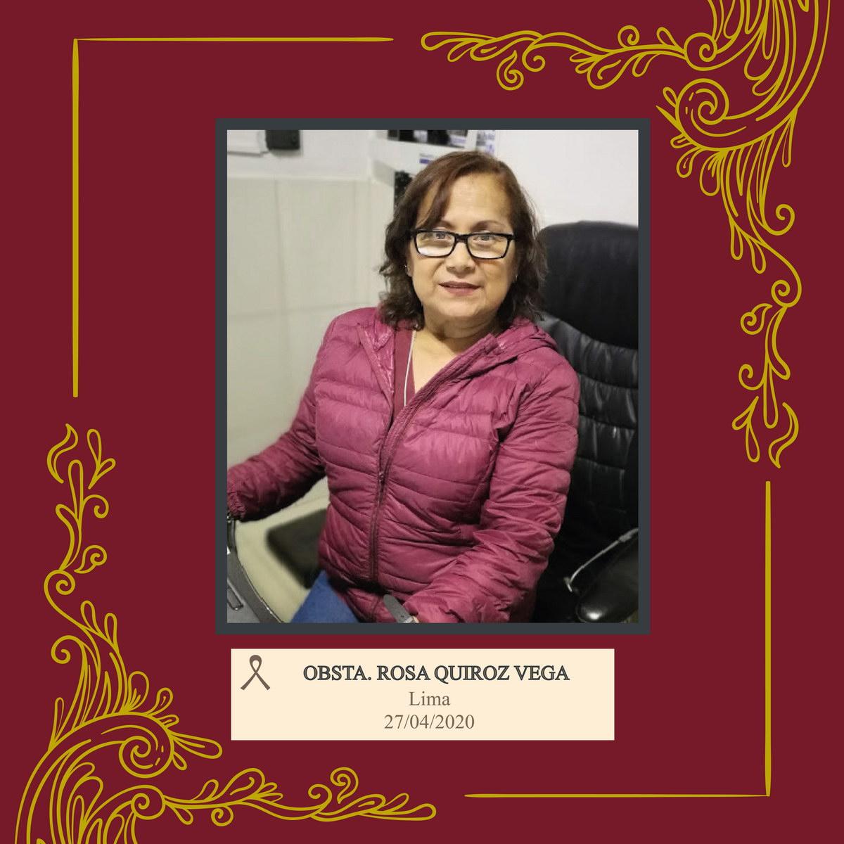 Rosa Elvira Quiroz Vega