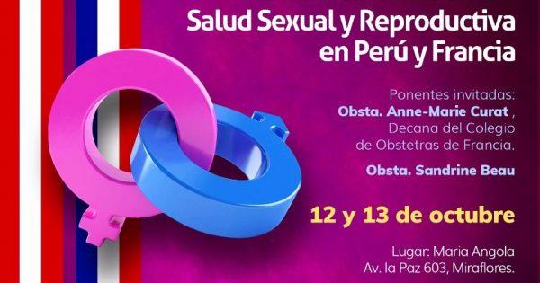"""Curso Internacional """"Avances en el Modelo de atención en Salud Sexual y Reproductiva en Perú y Francia"""""""