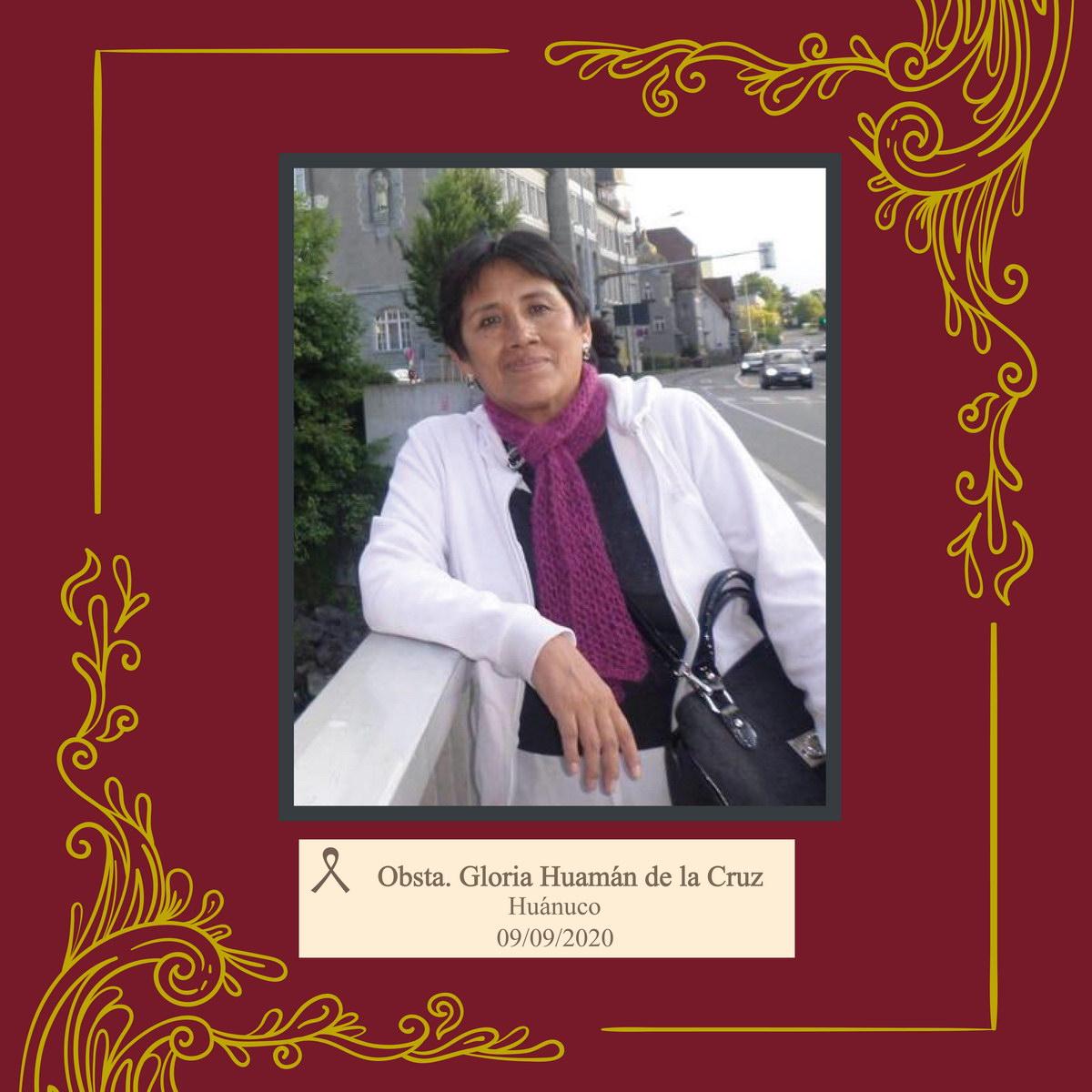 Gloria Aydé Huamán de la Cruz