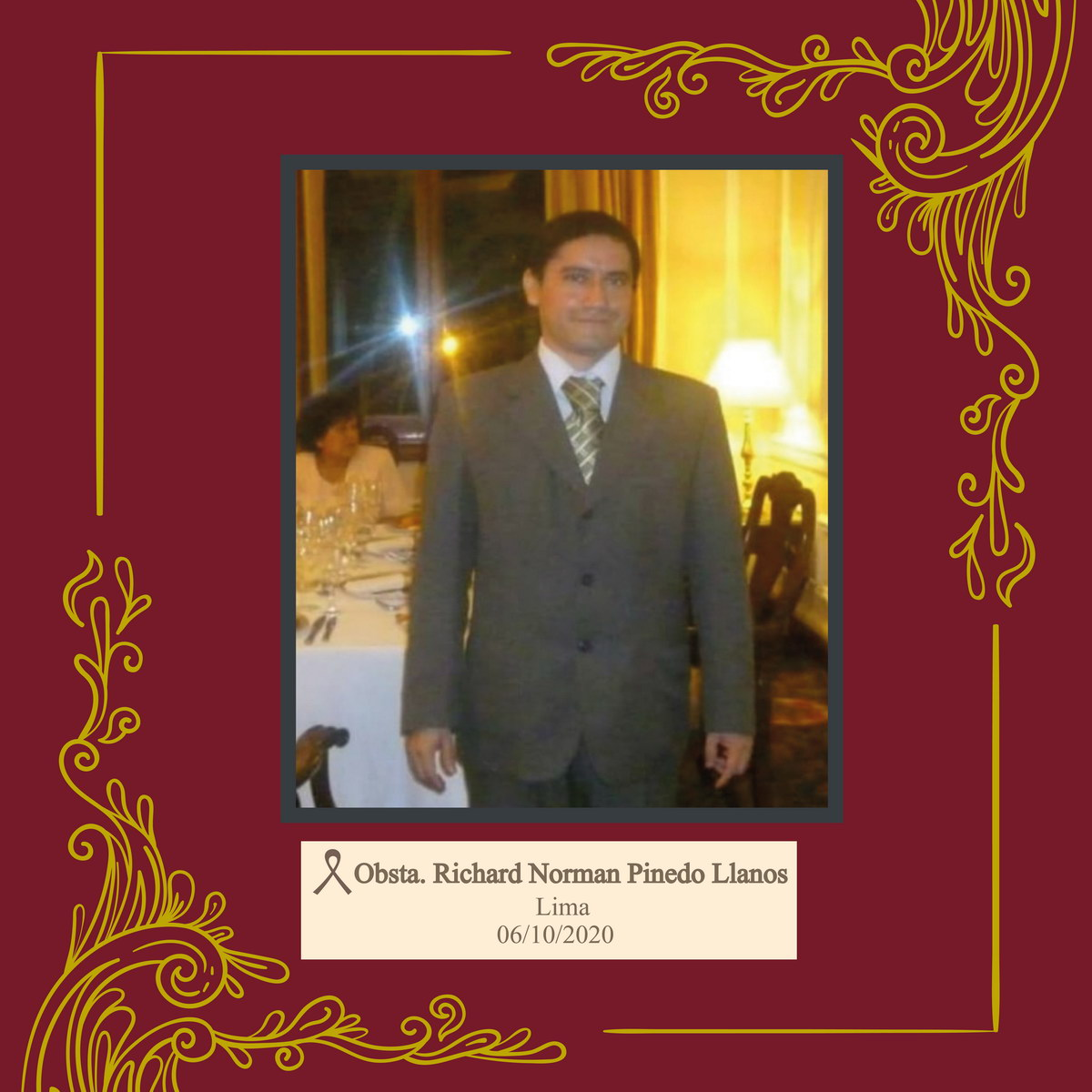 Richard Norman Pinedo Llanos