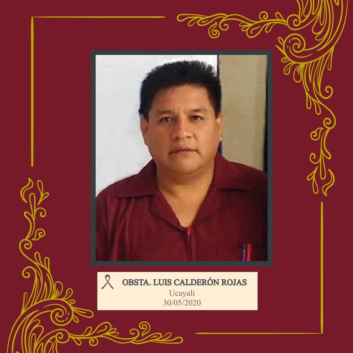 Luis Calderón Rojas