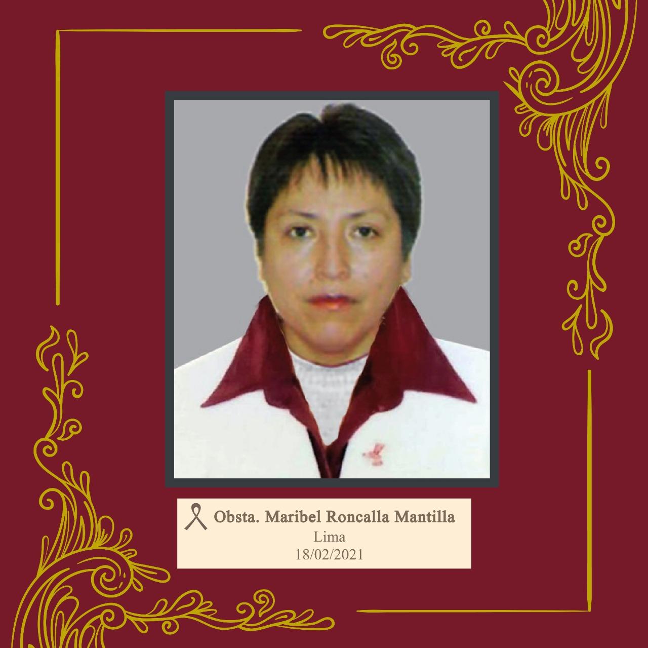 Maribel Roncalla Mantilla