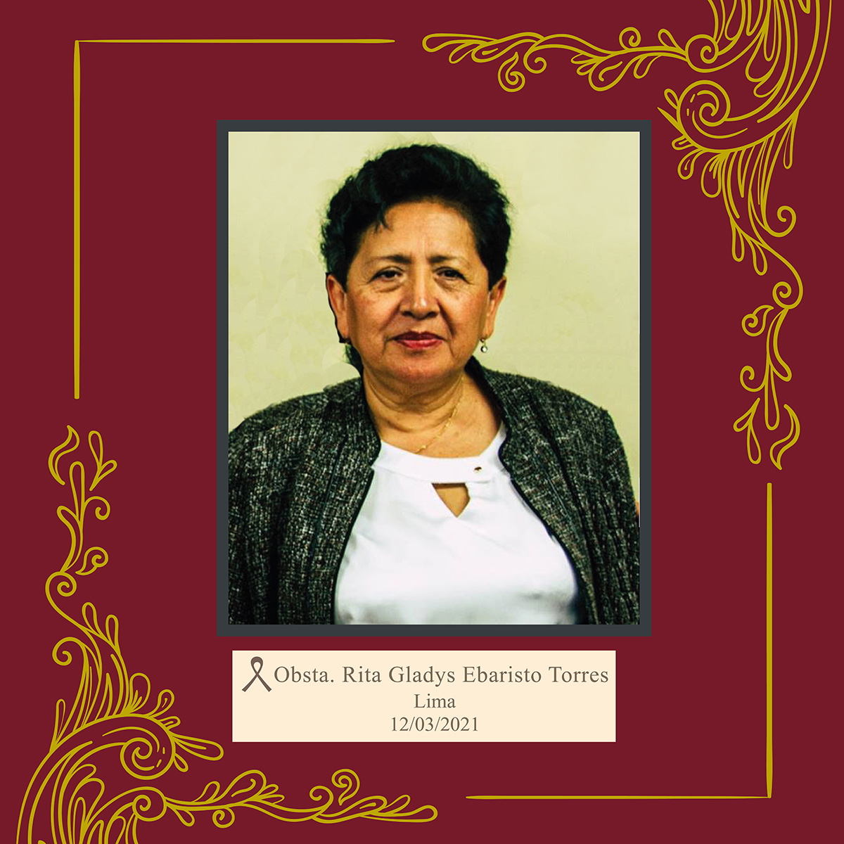 Rita Gladys Ebaristo Torres