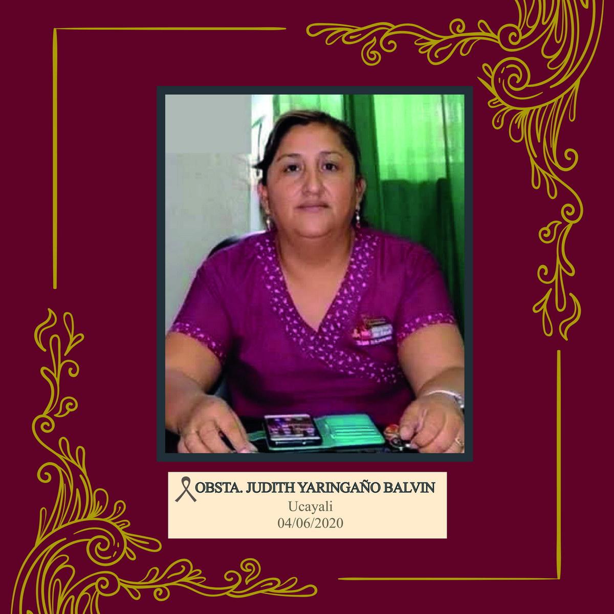 Judith Yaringaño Balvin