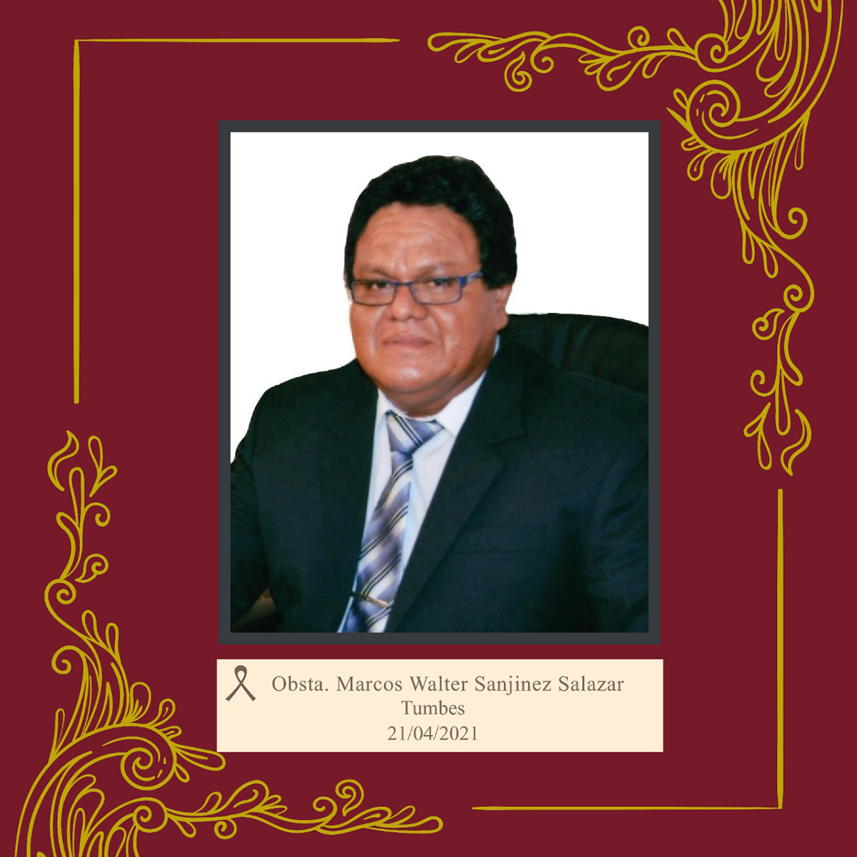 Marcos Walter Sanjinez Salazar