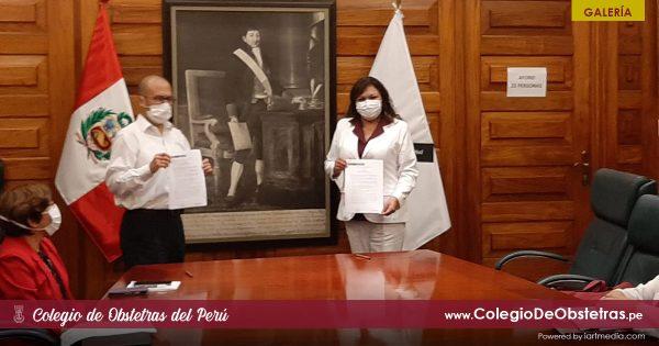 MESA DE TRABAJO ENTRE EL MINSA Y EL COP