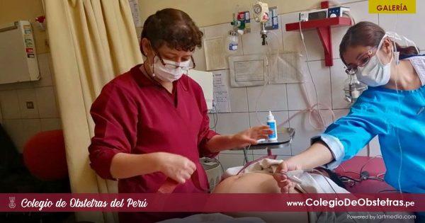 LOS OBSTETRAS DEL PERÚ SEGUIMOS TRABAJANDO DURANTE LA EMERGENCIA