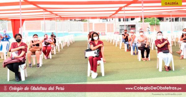 Obstetras del sector privado de Lima Este recibieron la primera dosis de la vacuna contra la COVID-19