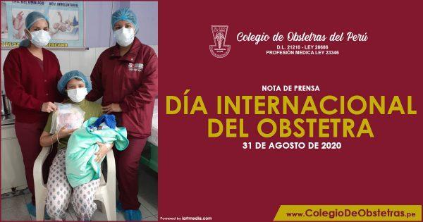 31 DE AGOSTO: DÍA INTERNACIONAL DEL OBSTETRA