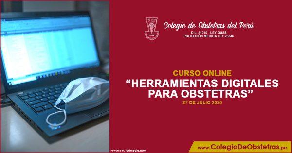 CURSO VIRTUAL GRATUITO «HERRAMIENTAS DIGITALES PARA OBSTETRAS»