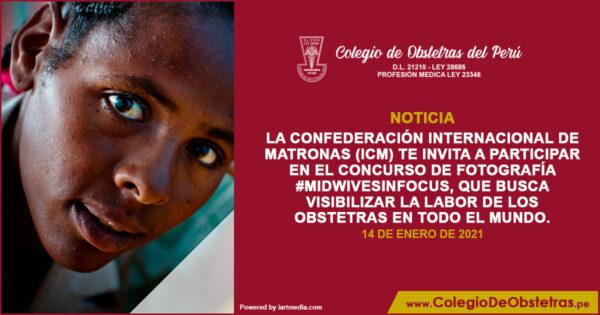 La Confederación Internacional de Matronas (ICM) te invita a participar en el concurso de fotografía