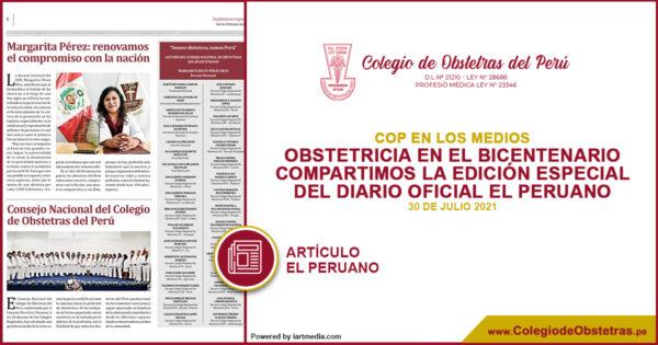 Edición especial del diario oficial El Peruano