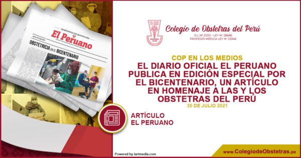 Homenaje a las y los obstetras del Perú que vienen contribuyendo a la salud pública  – Diario oficial El Peruano