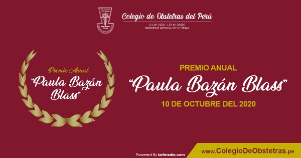 "PREMIO ANUAL ""PAULA BAZÁN BLASS"""