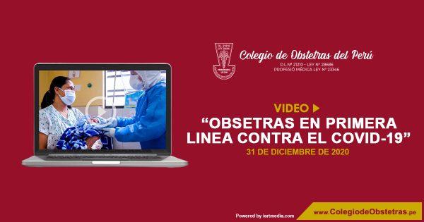 OBSTETRAS EN PRIMERA LÍNEA 2020