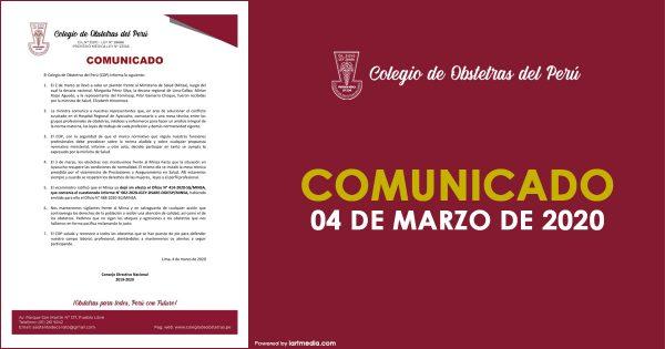 04 DE MARZO DE 2020