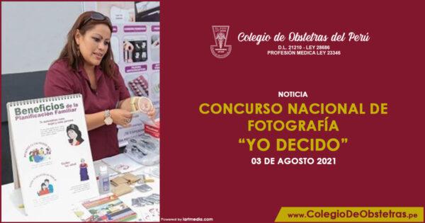 """Concurso Nacional de Fotografía """"YO DECIDO"""""""